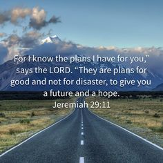 God has plans for you!