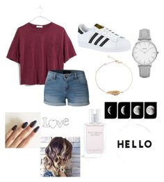"""❤️"" by isabellmurillo on Polyvore featuring Madewell, LE3NO, adidas, Topshop, Victoria's Secret and Lisa Perry"