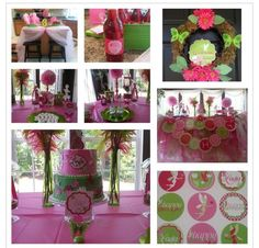 Kids enchanted fairy party