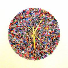 Large Wall Clock, Recycled Paper Clock, Home and Living, Paper Clock, Eco Friendly Decor,  Home Decor on Etsy, $492.00