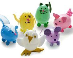 Make Plastic Egg Crafts all year round