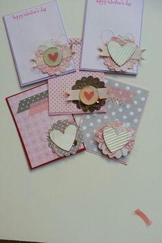 Valentines day cards #cardmaking #valentine #valentinesday #papercrafts #crafts