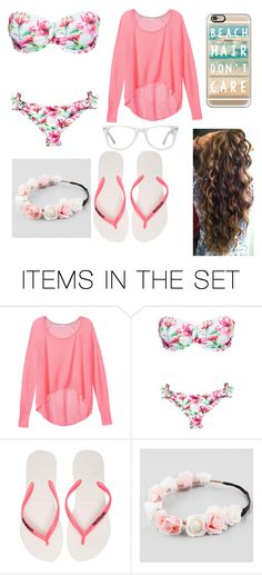 """Beach set"" by abygail428 ❤ liked on Polyvore featuring art"
