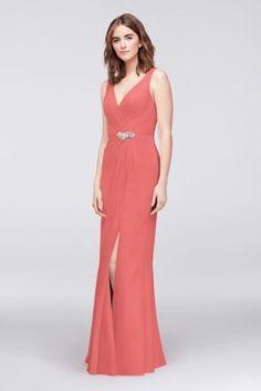 db9faf08873 Long Black Soft   Flowy Wonder by Jenny Packham Bridesmaid Dress Bridesmaid  Dresses Plus Size