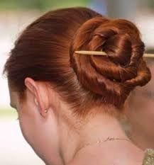 chinese hair bun