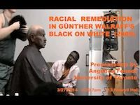 Racial Remediation in Günther Walraff's Black on White. March 27, 2014, 5:30 - 7:00pm, 113 Folwell Hall.