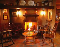 Great pubs with real fires - Bushmills Inn, County Antrim, Northern Ireland