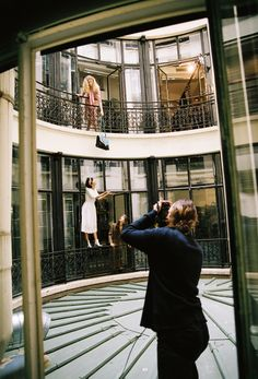 & Other Stories   Behind the scenes from the modern eclectic shoot in our Paris Atelier.