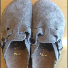 Birkenstock | Kid's Taupe Suede Clogs Brand: Birkenstock  Size: 31; 13-13 1/2 (according to their sizing)  Color: Taupe Like new condition. Birkenstock Shoes