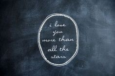I love you more than.love this! We say it to each other all the time. Love You More Than, I Love You, My Love, Basson, Love Amor, Sparkle Wedding, Wedding Black, Gold Wedding, Cursive