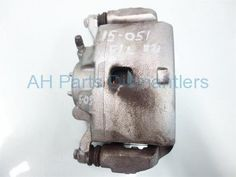 Used 2013 Honda Civic Front driver CALIPER  45019-TR7-A01 45019TR7A01. Purchase from https://ahparts.com/buy-used/2013-Honda-Civic-Brake-Front-driver-CALIPER-45019-TR7-A01-45019TR7A01/92010-1?utm_source=pinterest