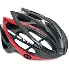 Bell Gage Helmet Black/Red/White Stripes - Closeout
