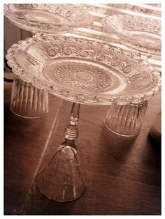 Thrift store plates and glasses for dessert stands – Kristen Wysocki – Thrift Store Crafts Dessert Stand, Thrift Store Crafts, Cookie Do, Cookies Policy, Thrifting, Dessert Glasses, Arts And Crafts, Diy Projects, Plates