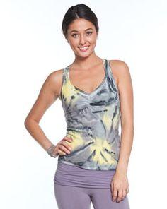 Barefoot Yoga Co. | OMgirl  Bhakti Tank  Fireworks  in Organic Cotton