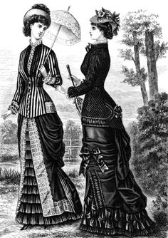 Victorian dress style