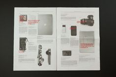 Chronicled Device on Editorial Design Served