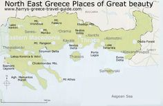 north east greece map ile ilgili görsel sonucu
