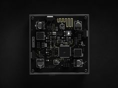 Miniature amplifier module with integrated bluetooth receiver. Circuit Board Design, Printed Circuit Board, Computer Gadgets, Futuristic Technology, Diy Electronics, Electronics Projects, Environment Concept Art, Camera Accessories, Interface Design
