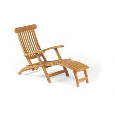 """Deckchair """"MANHATTAN"""" Rückenteil mehrfach verstellbar - Ihr Online Shop für exklusive Gartenmöbel - #Garten #Moebel"""