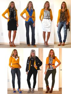 Love this mustard color cardigan however, do women with a rather large backside, like myself, look good in this style of sweater? Versatile mustard cardigan! Great looks based on a fabulous piece