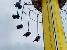 Adventureland Park in Des Moines, Iowa offers thrilling amusement park or carnival rides