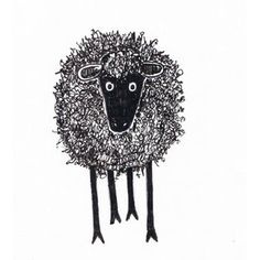 Critter Soup Animal Drawing made easy: Easy to Draw Silly Scribble Sheep