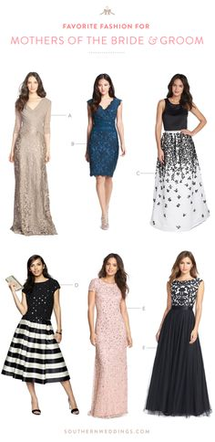 fashion favorites for mothers of the bride