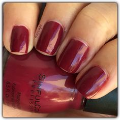 """One coat and no top coat of Sinful Colors' """"You Goji"""". #SinfulColors #nails #nailpolish #swatches .  Instagram: accnpl"""