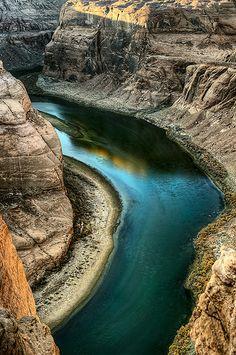 Horseshoe Bend, Colorado River, Antelope Canyon slot canyons, Arizona