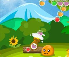 Puru Puru Fruit Bubbles   Kizi10games.net