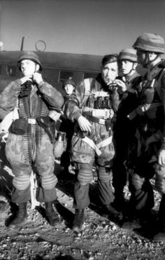 Fallschirmjagers préparation de l'invasion de Leros (Grèce). Septembre 1943.