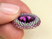 How to Make an Open Back Peyote Bezel