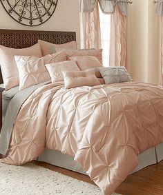 Look what I found on #zulily! Blush Ella 24-Piece Comforter Set #zulilyfinds