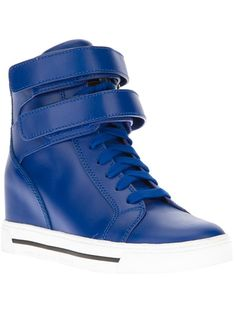 Must have sneaks: Marc by Marc Jacobs, wedge heel trainer.