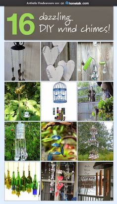 Now I know what I'm doing with all my used wine bottles--fantastic ideas!