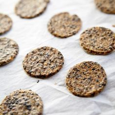First item in list below is soy sauce, but the website indicates GF tamari. Gluten-Free Crackers Recipe