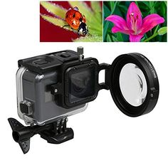 SHOOT Portable 30m Underwater Transparent Waterproof Case Housing for Xiaomi Yi 2 4K Action Camera >>> Click on the image for additional details. (This is an affiliate link)