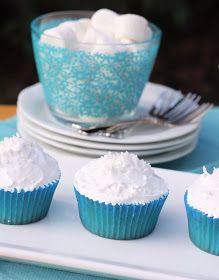 Coconut Cupcakes with 7 Minute Frosting