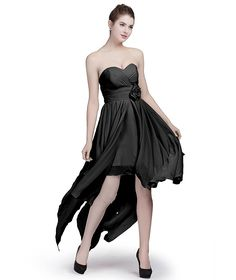 Fashion Plaza Bridesmaid Dresses Hight Low Strapless D0368 * Tried it! Love it! Click the image. : black dress