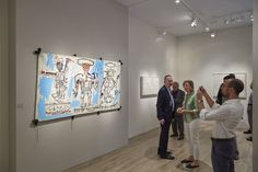 The edition of Art Basel in Basel closes on Sunday. According to numerous art dealers, sales at this edition of the Swiss art fair have set records. Neo Expressionism, Life Paint, Jean Michel Basquiat, Latest Generation, Selling Art, Andy Warhol, Vincent Van Gogh, Getting To Know, Modern Art
