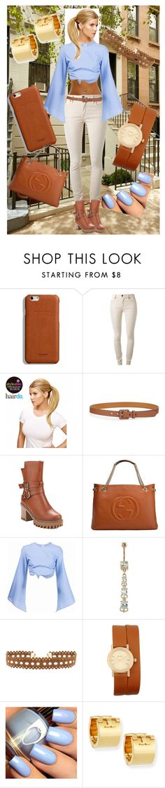 """Work boots?"" by boopreski ❤ liked on Polyvore featuring Shinola, Burberry, Ken Paves, Lauren Ralph Lauren, Gucci, Rosie Assoulin, Vanessa Mooney, Bulova, Tory Burch and StreetStyle"