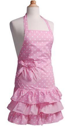 Girls' Apron Marilyn Strawberry Shortcake  www.flirtyaprons.com