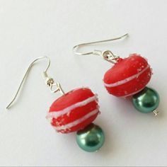 Check out this item in my Etsy shop https://www.etsy.com/listing/208887001/candy-christmas-earrings