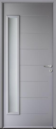 Modèle ABSCISSE Ral gris 7004 Future House, Furniture, Home Decor, Driveway Gate, Puertas, Decoration Home, Room Decor, Home Furnishings, Home Interior Design