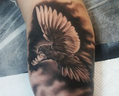 Dove tattoo by Emil. Limited Availability at newtestamenttattoostudio