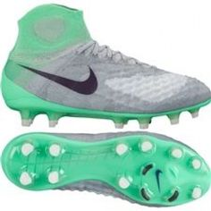 8a725c466828 Nike Women s Magista Obra II FG Soccer Cleats (Wolf Grey Purple  Dynasty Electro Green)  soccercleats  soccer  cleats  life