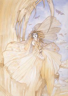 ray_of_princess by Yoshitaka Amano