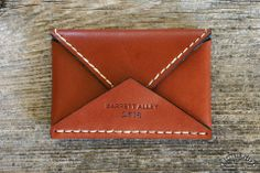 Reuben Wallet in Russet | Barrett Alley - Handmade in USA