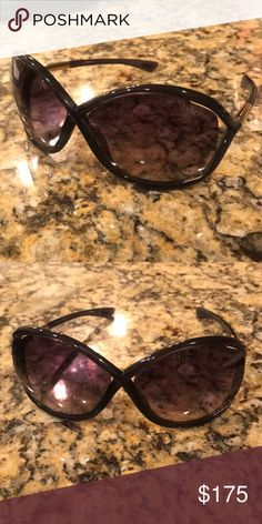eff94b9ba50 Shop Women s Tom Ford Black size OS Sunglasses at a discounted price at  Poshmark.
