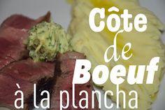 Côte de boeuf à la plancha avec son beurre maître d'hôtel   Sugar'n'Sale, un blog de recettes de cuisine et de pâtisserie